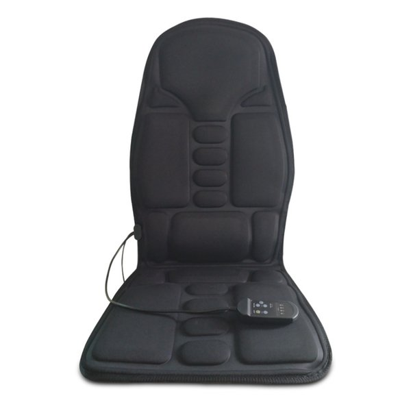 Car Home Mattress Electric Heating Vibrating Therapy Massage Mat Chair Sofa with Ready Stock