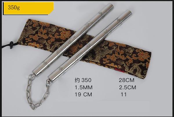 NEW Stainless Steel Nunchaku Caving Dragon 2&1 Nunchaku customizable 220g/270g/300g/350g Performance Practical Practice Sticks