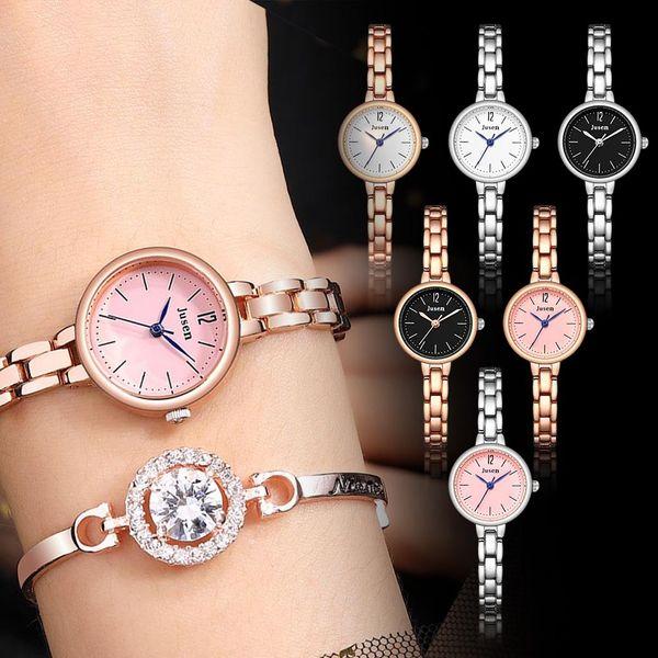 Fashion Simple Ladies Watch Star Diamond Inlaid Alloy Women Quartz Wrist Watch Casual Female Clock Bracelet /d