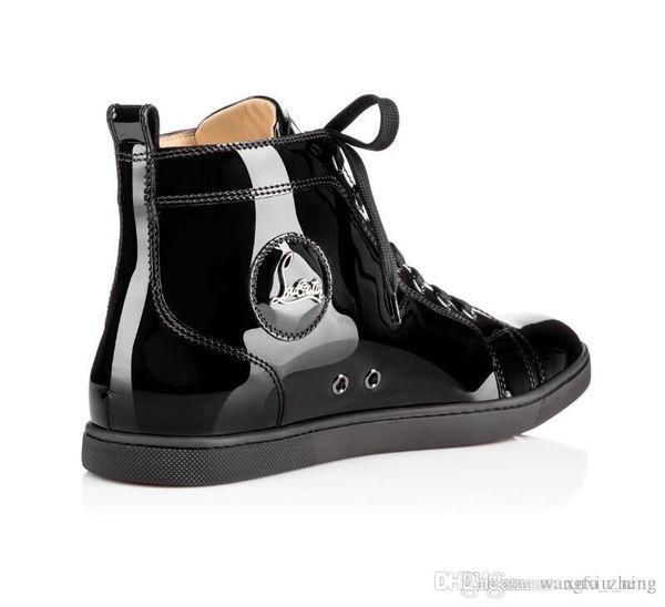 cristianoLouboutinhombre y la mujer de moda bolsa de AAA239 al rojo vivo zapatos inferiores envío gratuito