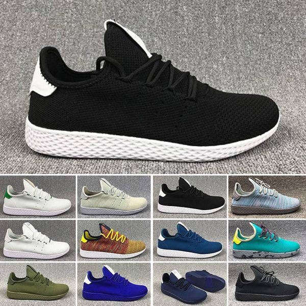 Adidastennishu Originals Pharrell Williams Tennis Chaussures de course Mode Pharrell Williams Summers Racer Sneaker pour Femmes Hommes