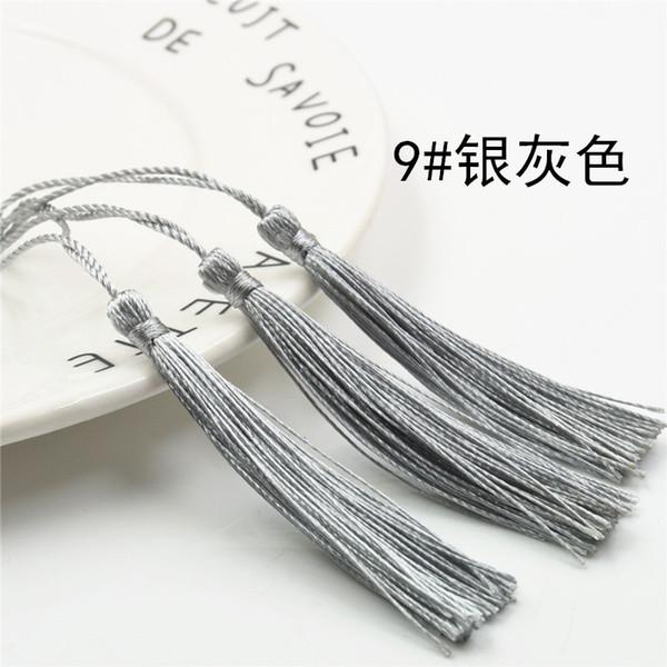 الرمادي الفضي - 100pcs التي