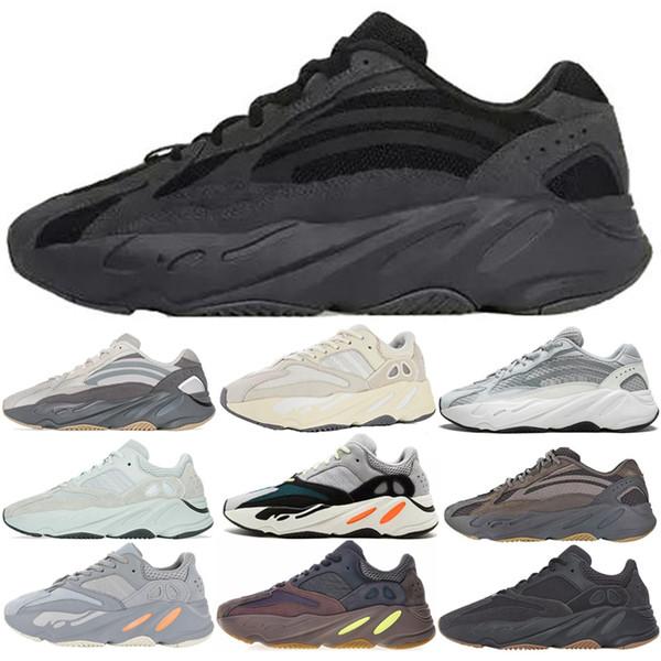 2019 Vanta Dalga Koşucu 700 V2 Erkek Koşu Ayakkabıları leylak Atalet Geode Kanye West Atletik Spor Eğitmenler Sneakers Kadın Açık Koşu Ayakkabı