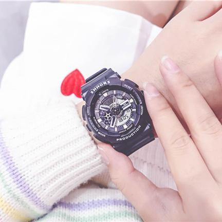 2019 Top Sale Women Ladies Shock Style Sport Watches Luxury LED Military Date Day Chronograph Wristwatches Women Casual Dress Clock Gift