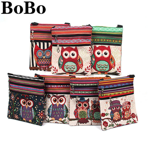 BoBo 2019 new style new fashion 3D printing large capacity female bag luggage bag casual shoulder diagonal package