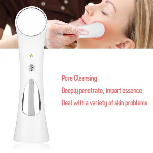USB Micro-corrente Íons Ultrassônicos Importação Facial Poros Instrumento de Limpeza Massageador Rosto Limpo Remoção de Rugas Remoção Da Pele