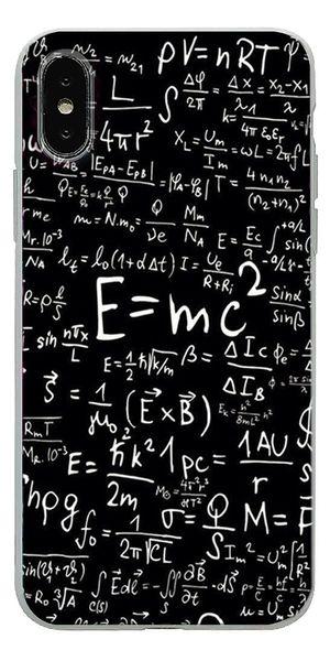 Custodie Impermeabili Sfondo Bianco Formula Matematica Cassa Del