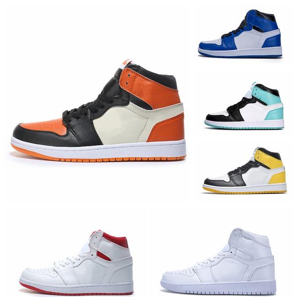 2019 НОВЫЙ 1 High OG Solefly x 1s Chicago Crystal Origin Story Баскетбольная обувь Женская мужская мода роскошные мужские женские дизайнерские сандалии обувь