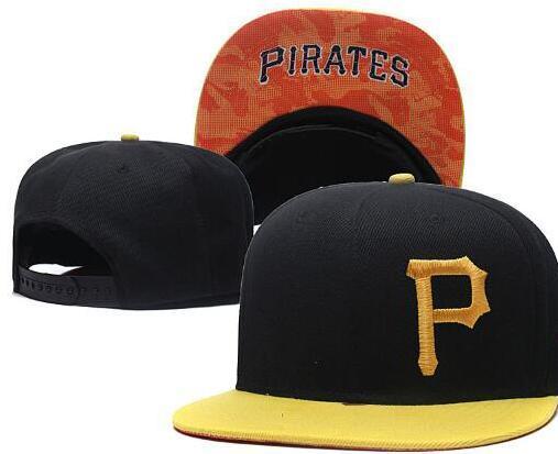Оптовая Пираты Бейсбол Snapback шляпа брендов хип-хоп кепка открытый Sun cap мужская Дешевые Flast Bill Спортивная мода регулируемые кости женские 01
