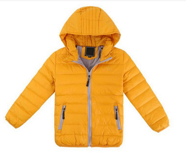 free shipping Boys Down Coat Jacket New Brand Of Baby Winter Jacket Down Jacket Children's Outerwear Boys Parkas 3-12Y