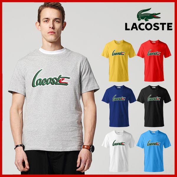 2019 neue mode herren designer t shirts herren sommer kurzarm t shirts brief druck crewneck casual tops größe s-6xl