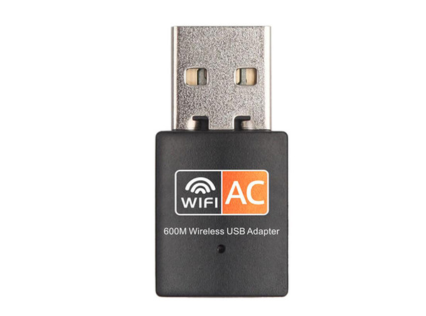 top popular 600Mbps Network Adapter RTL8811CU AC600 Dual Band 2.4Ghz 5Ghz USB WiFi Dongle Wireless Lan 2021