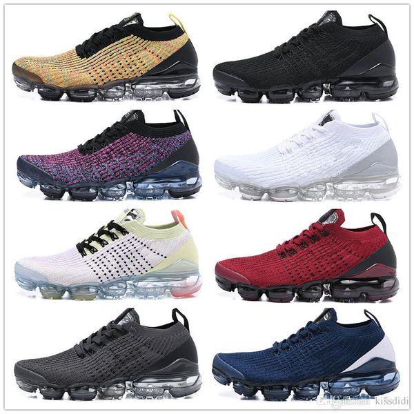 2019 FK knit 3.0 blue orange Men shoes youth Man Running Shoes Athletic Sport Shoes bubbles