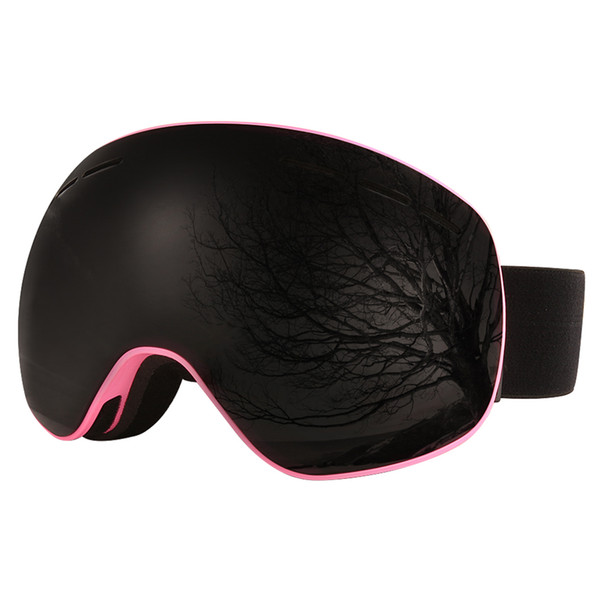Winter skiing snowboard snow ski googles clear snow men women ski winter face skiing snowboarding mask polarized