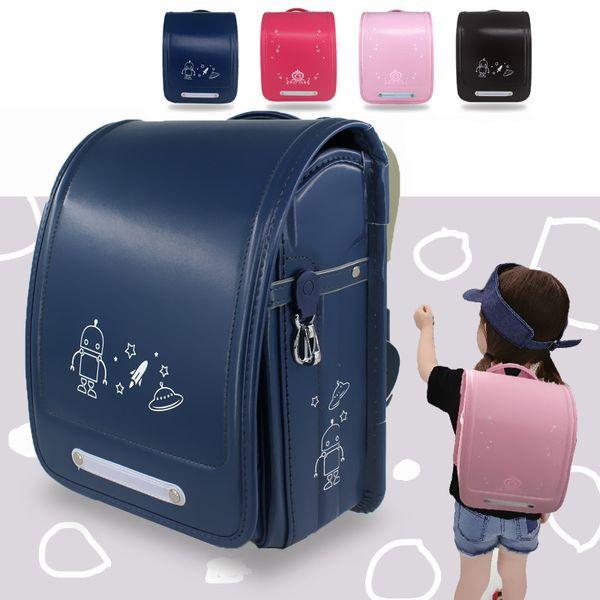 Yeni Moda Erkek Kız Okul Çantaları Marka Çocuk Sırt Çantası Japon Tarzı Öğrenci Kitap Çantası Büyük Çocuklar Schoolbag 4-10 Yaşında