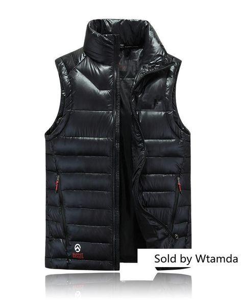 Neue Mantel tragen dicken Norden Winter im Freien schwere Mäntel Daunenweste Gesicht Jacken Kleidung