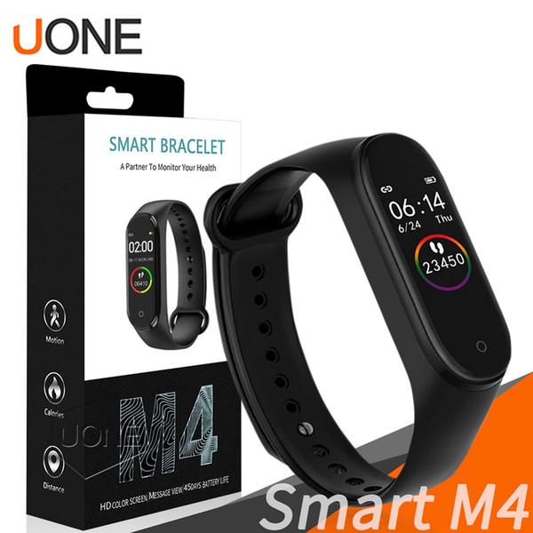M4 intelligent Band Fitness Tracker Sport bracelet de fréquence cardiaque Pression artérielle étanche Moniteur de fréquence cardiaque mi 4 Band Avec Retail Package