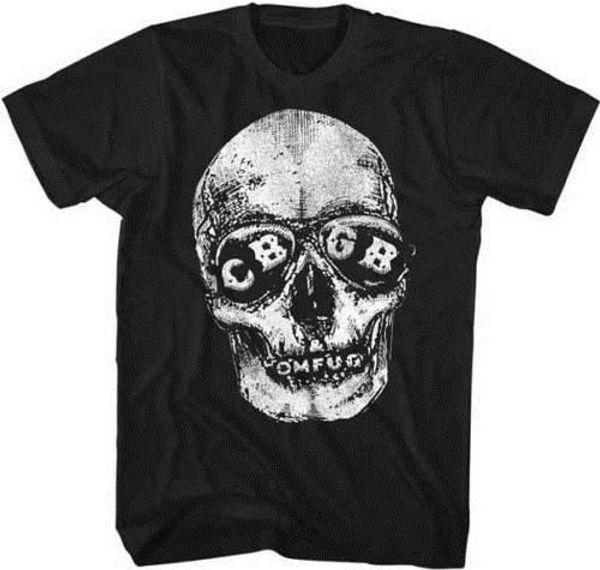 CBGB & OMFUG Home Of Underground Rock CBGB Sunglasses Adult T Shirt Printed Summer Style Tees Male Harajuku Top Fitness