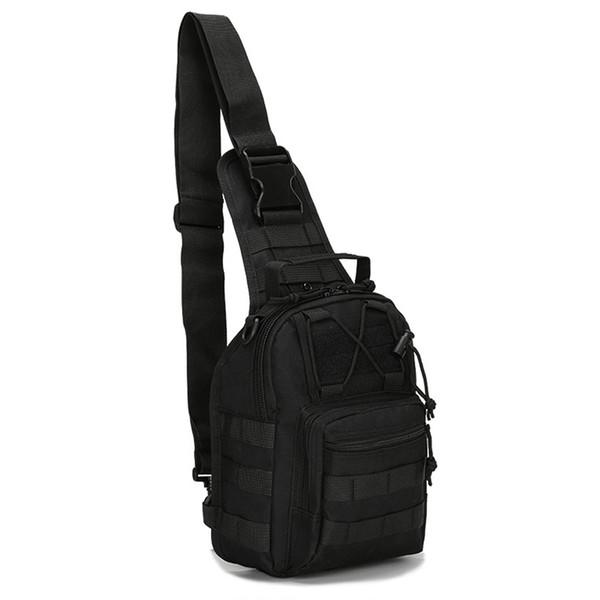 Fly Black Fishing Bagpack Oxford Waterproof Tackle Shoulder Bag Men Accessory Lure Winter Reel Army Tactical Military Camping #567903