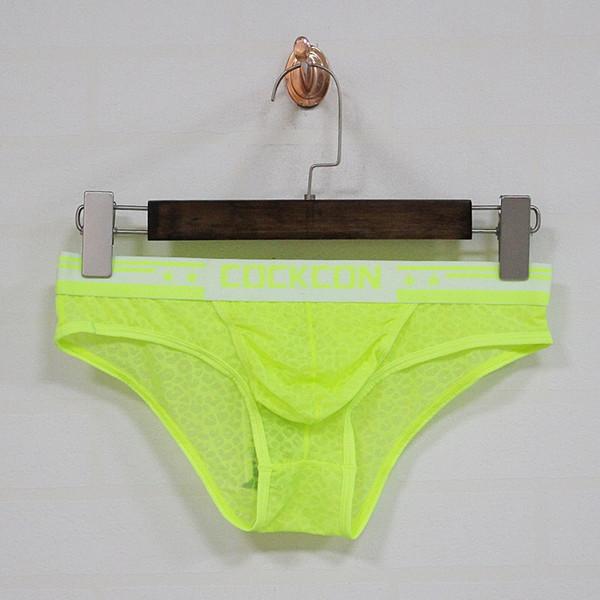 top popular Wholesale COCKCON Breifs For Men print flower Underwear sexy briefs for man 6103 2021