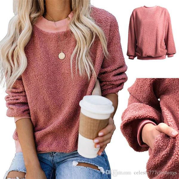 Herbst neue Frauen Sweatshirt schlanke Art und Weise 6 Farben Langarm kurze Sweatshirts Damen Designer Hoodie Winterkleidung s-xxl