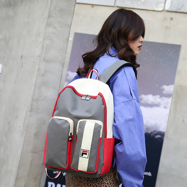 Amazing2019 Package Shoulders Both Woman Mori College Student Chic A Bag Canvas Ancient Feeling Girl Concise Backpack