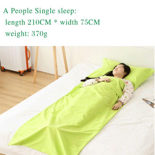 #7 single /green/ 210*75cm