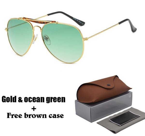 1pcs brand sunglasses for men women male driving sun glasses reflective coating uv400 eyewear oculos gafas de sol with box and cases thumbnail