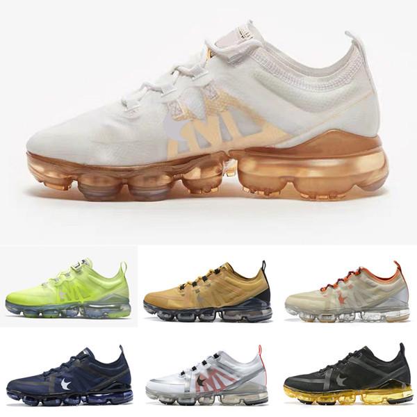 2019 retrocesso aipo futuro oliva luz para os homens tênis de malha esportes de ar de sneaker de malha