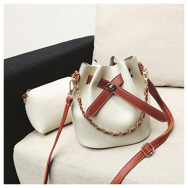 Women's shoulder Messenger bag PU material handbag trendy fashion casual high quality multi-function large capacity design