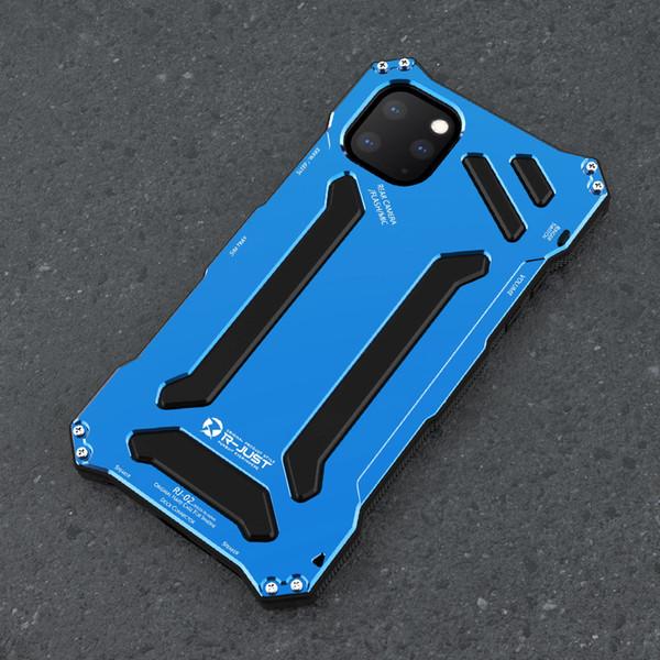 Gundam Zırh Alüminyum Metal Kapak Kılıf iphone 11X1 11 Max 11R XS XR Telefon Kılıfları Hayat Su Geçirmez darbeye dayanıklı