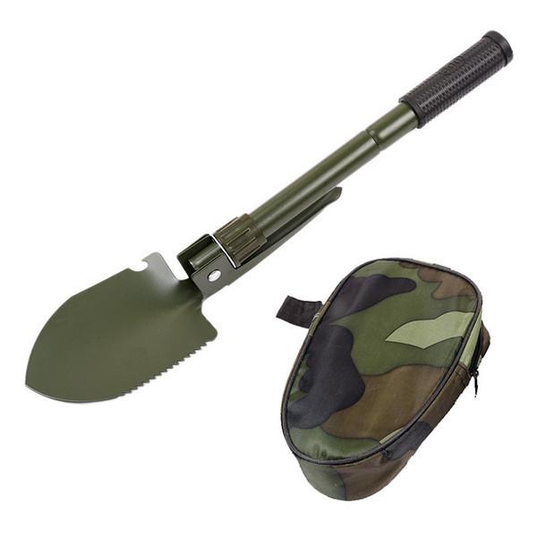 SHOVEL Folding Camping Survival TOOL Military Multi Spade Portable Outdoor Steel