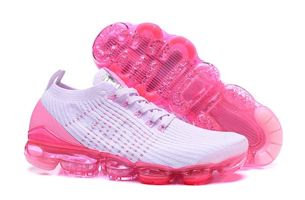 pretty nice 65883 7197a Cheap Pink White Womens 2019 Designer Sneakers Chaussures Femme 95s Men  Running Shoes Knitted Sport Trainers Triple S Sizes 36 45 Racing Shoes Good  ...