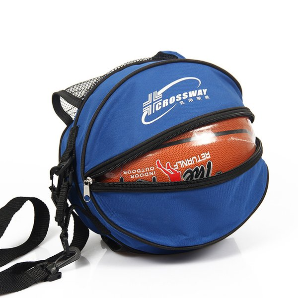 Volleyball Basketball Bag Round Shape Outdoor Sports Adjustable Shoulder Soccer Ball Bags Training Equipment Accessories Kids Football kits