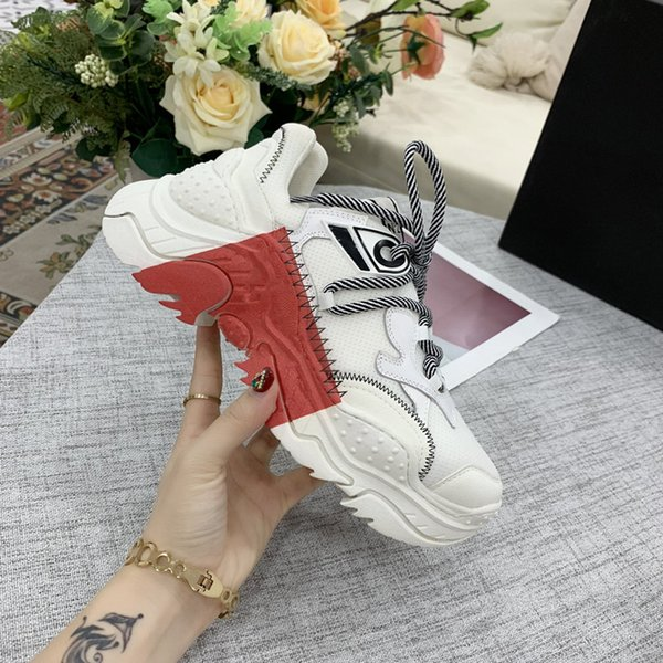 Nuevos zapatos de plataforma de lujo para hombre de moda para mujer plana casual caminando zapatillas de deporte ocasionales luminosas fluorescentes 3M zapatos reflectantes rx190705