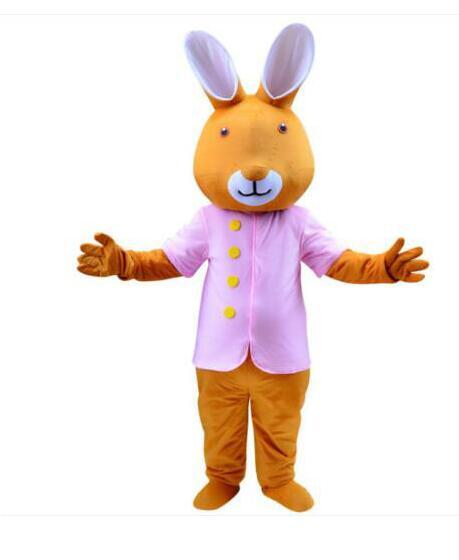 Christmas Fancy Dress Funny.New Adult Best Sale Lovely High Quality Rabbit Walking Mascot Costume Christmas Fancy Dress Halloween Mascot Costume Funny Halloween Costumes Homemade