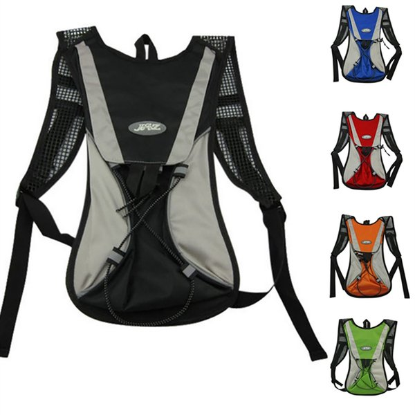 Camping Hiking Cycling Backpacks Bikes Water Bag Sports Men Women Breathable Helmet Outdoor Equipment Knapsack Shoulder Bag 2L #225633
