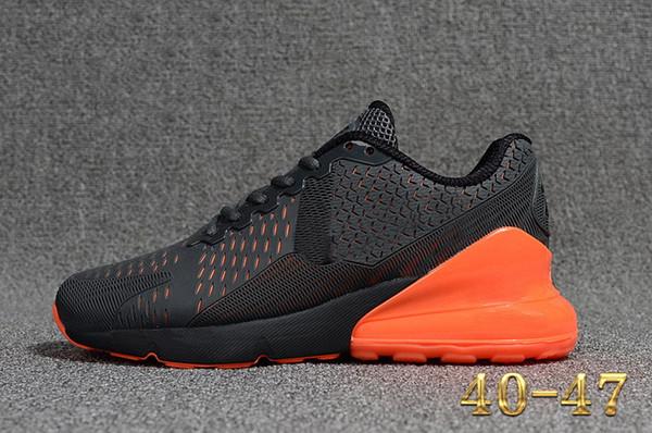 Acheter 2019 Air Chaussures De Marque Nike Air Max 270 Chaussures Flair Triple Pink Blanc Bleu 27C Trainers Sports Shoe Air Max 270 Baskets 27c Sports