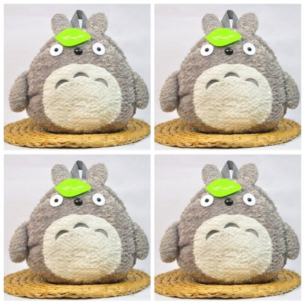 Hayao Miyazaki Totoro Parenting Cartoon Knapsack Primary And Secondary School Students Backpack Lovely Green Leaf Bags Fashion 33mzf1