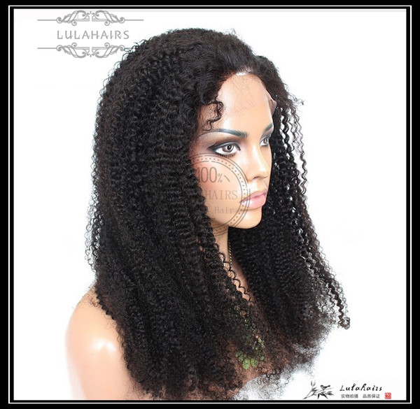 6A Curly Bubble hair Full&front&360&13*6 lace Wigs can customized color Peruvian Human Hair Wigs & Human Virgin hair For Black Women
