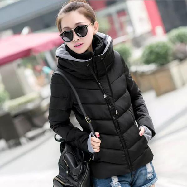 New Hot 2016 Winter Jacket Women Parka Thick Winter Outerwear Plus Size Down Coat Short Slim Design Cotton-padded Jacket TD1