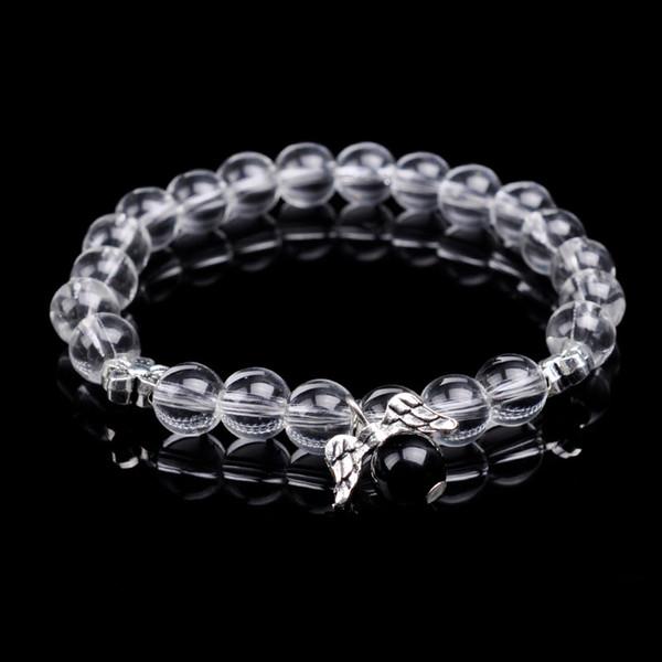 Cristal mode en verre attractions touristiques pendentif en alliage diy perles bracelet