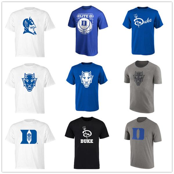 NCAA Duke Blue Devils 2019 Torneio Conferência de Basquete dos homens do ACC Campeões T-Shirt da Faculdade camisa Shorts Frete grátis impresso logotipos