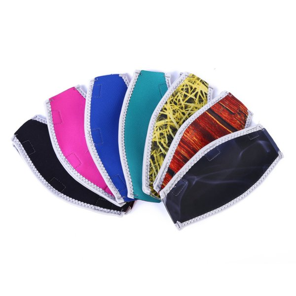 Diving Straps Universal Doulbe Sided Dive Face Mask Protector Cover Band Solid Print Protector Cover For Underwater Sportswear