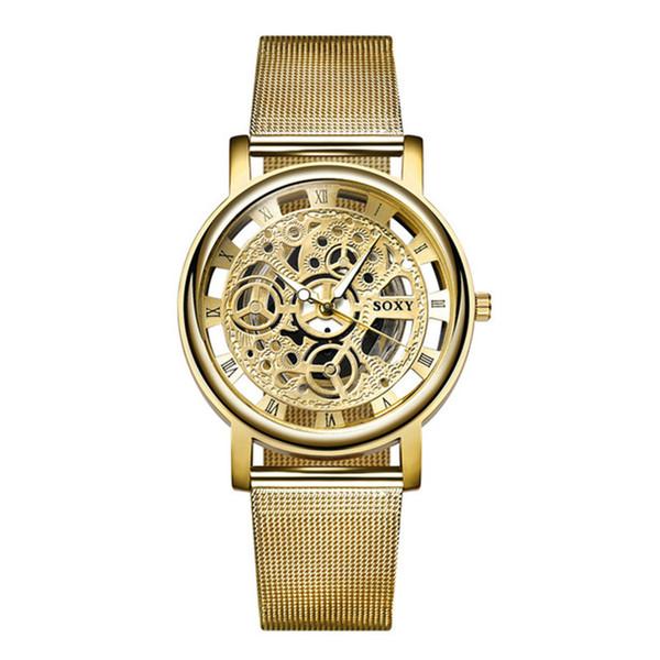 Zerotime #501 2019 Wristwatch Watch Silver Golden Steel Watches Men Women Unisex Hombre Quartz Wristwatch Clock Free Shipping
