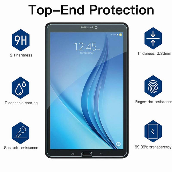 """Genuine Tempered Glass Film Screen Protector For Samsung Galaxy Tab E T560  9.6/"""""""