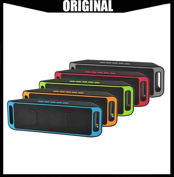 Venta al por mayor SC208 Mini Altavoces Bluetooth portátiles 2019 Venta caliente inalámbrica Reproductor de música Alta potencia Subwoofer Soporte TF USB FM Radio