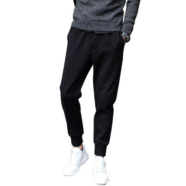 New Arrival Summer Men's Pants Trousers Fashion Black Casual Loose Hip Harem Pants