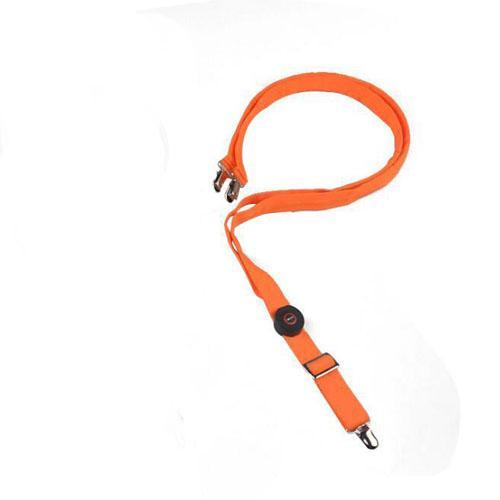 orange, bretelles