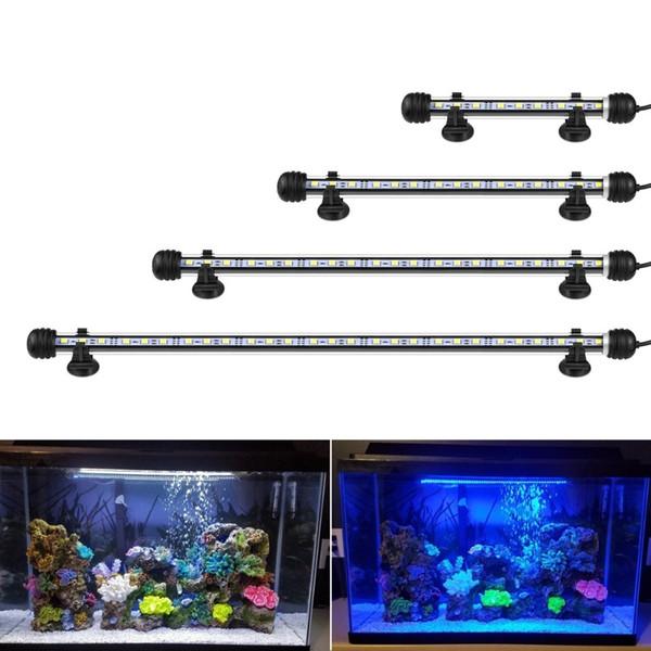 9см 29см 39см 49см Аквариум Led Fish Tank Лампа Led Tube Bulb 9/15/21 / 27leds Бар Свет Погружной Водонепроницаемый 100-240 В ЕС Plug